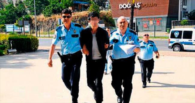 Gürcü hırsız geri dönünce yakalandı