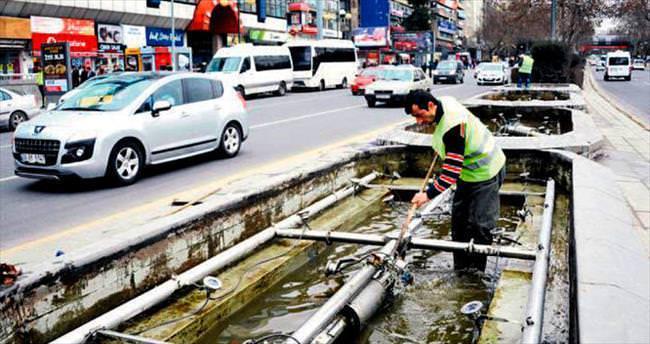 Havuzlara bahar temizliği