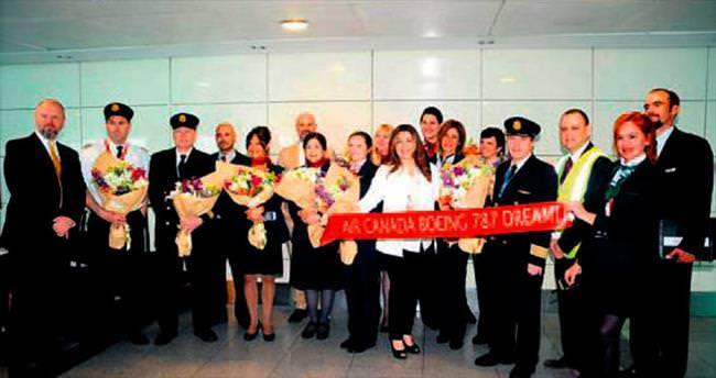 Air Canada rüya uçakla kapasitesini artırdı