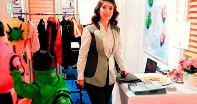 Müdür giyilebilen çanta üretti