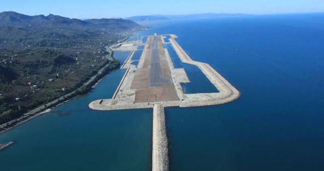 'Deniz üzerindeki havalimanı marka otelleri Ordu'ya yöneltti'