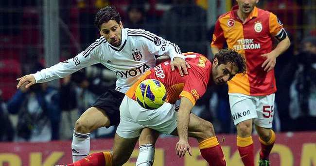 Galatasaray - Beşiktaş derbisinde bir ilk
