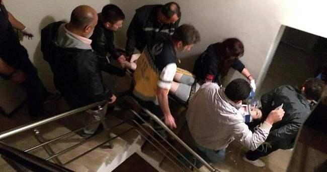 14'üncü kattan düşen genç kız öldü