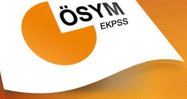 EKPSS/kura başvuruları başladı
