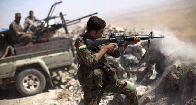 Peşmerge güçleri DAEŞ'li 80 teröristi öldürdü