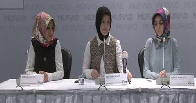 Genç MÜSİAD'dan Hanımlara Özel Pembe Vagon projesine destek