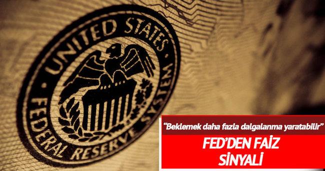 Fed başkanlarından faiz artışı sinyali