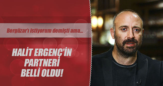 Halit Ergenç'in partneri belli oldu
