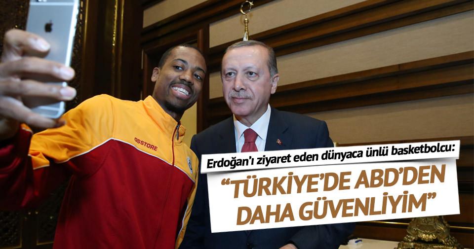 Türkiye'de daha güvendeyim
