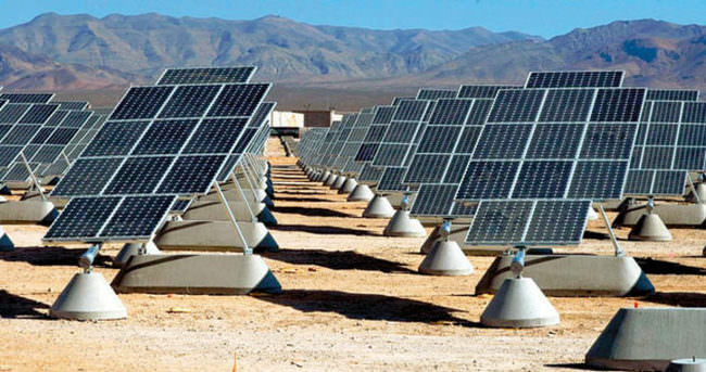 Türkiye'nin en büyük güneş santrali açıldı