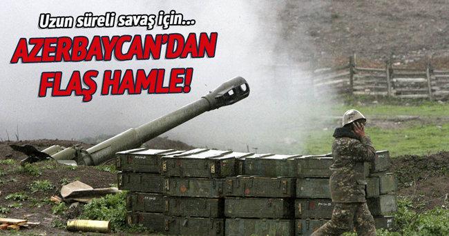 Azerbaycan silah ve mühimmatını yeniliyor!
