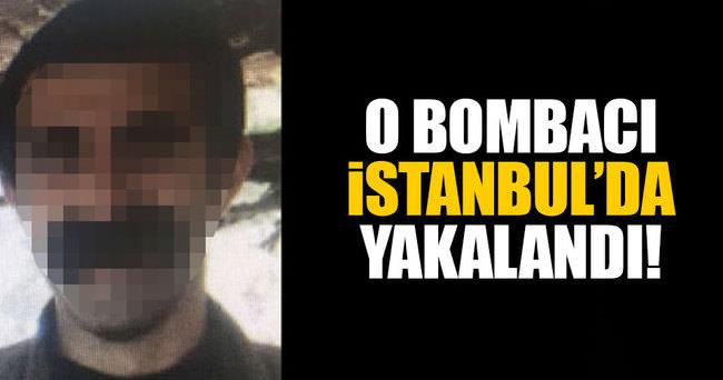 O bombacı İstanbul'da yakalandı!