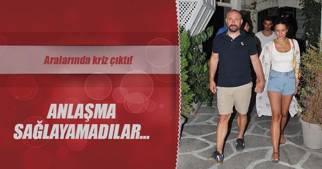 HALİT ERGENÇ'İN YENİ PARTNERİ KRİZ ÇIKARTTI!