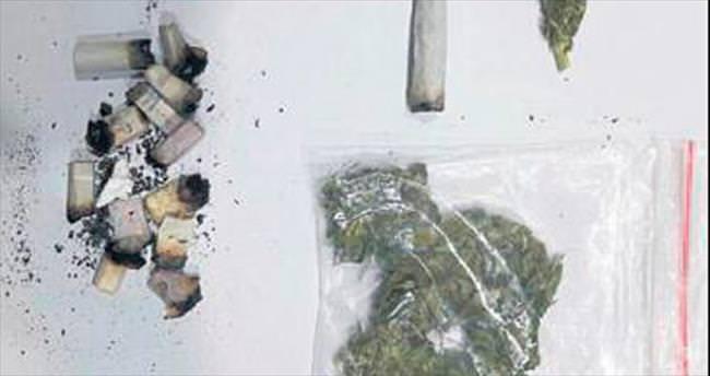 Jandarmadan yeşil kokain operasyonu