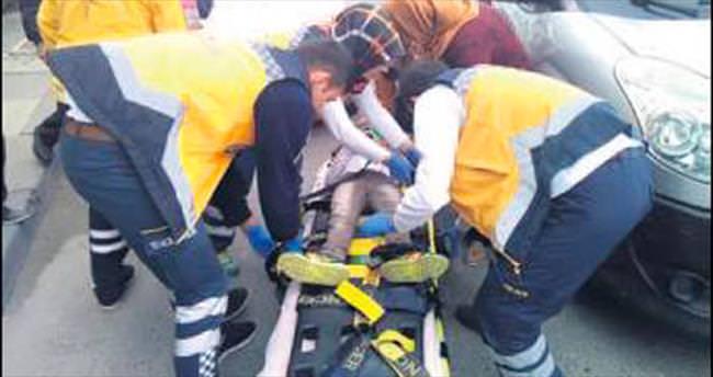 13 kişi 1 araçta ölümden döndü