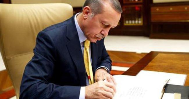 Erdoğan'dan 7 kanuna onay