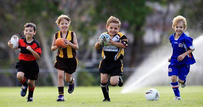 Spor yapan çocuklar daha sağlıklı oluyor