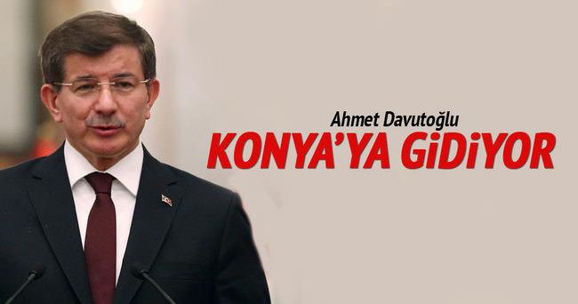 Davutoğlu Konya'yı ziyaret edecek