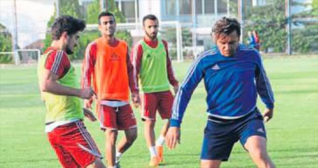 Antalyaspor maçı hazırlığı sürüyor