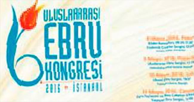 Uluslararası Ebru Kongresi başlıyor