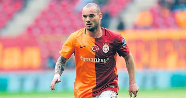 Top artık Sneijder'de