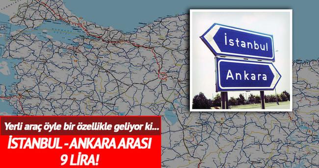 Ankara-İstanbul 9 lira!