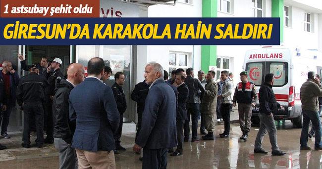 Jandarma Karakoluna hain saldırı: 1 şehit