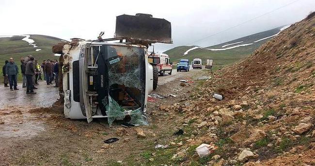 Erzurum'da feci kaza: 27 yaralı