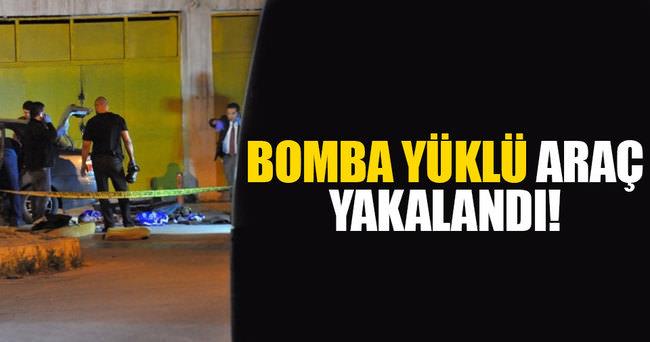İzmir'de bomba yüklü araç yakalandı!