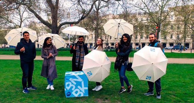 Londra'da altı Türk vlogger