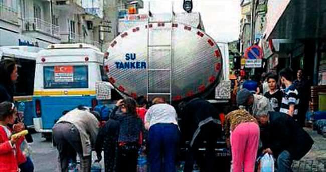 İzmir'de su izdihamı!