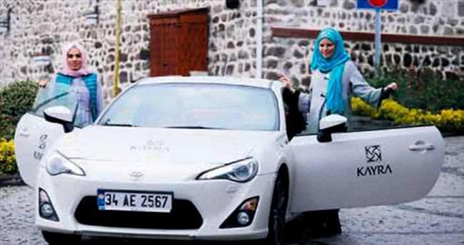 Burcu Çetinkaya'dan özel sürüş eğitimi