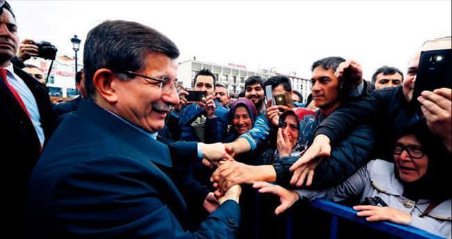 Davutoğlu Konya'da helallik istedi