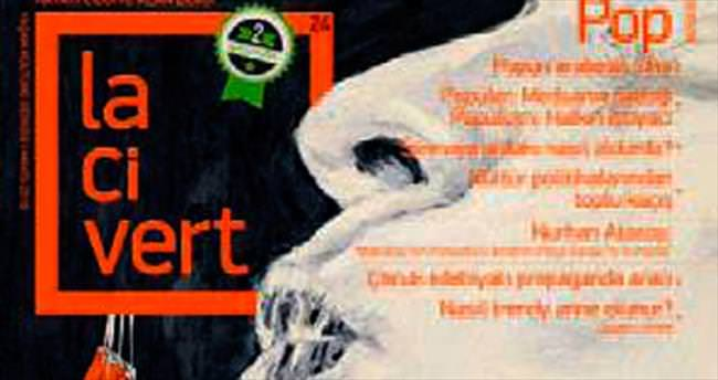 Lacivert Dergi 2'nci yılına 'Pop' sayısıyla girdi!