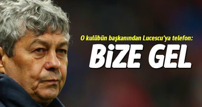 Lucescu'yu aradı: Galatasaray'a gel