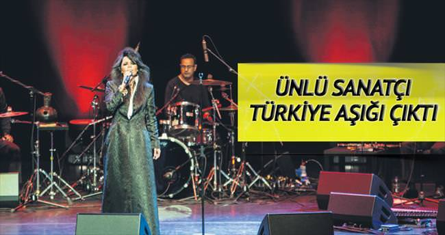 'Türkçeye âşığım'