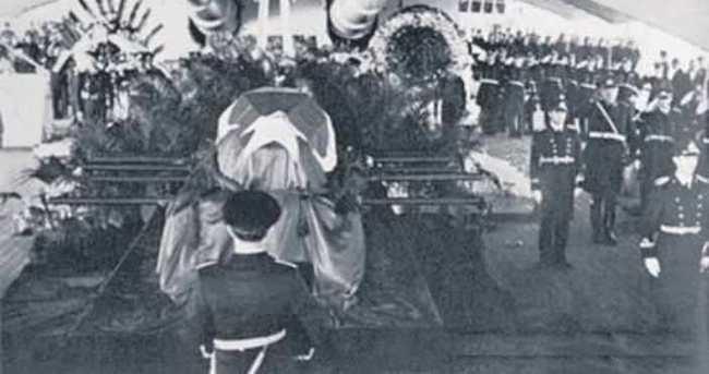 Atatürk'ün son nöbetçisine veda