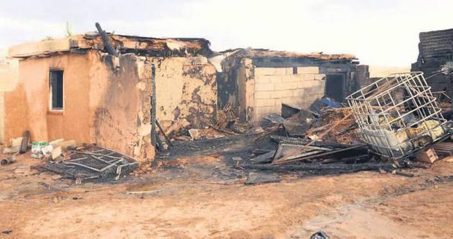 Barakada yangın! Baba ve 6 çocuğu öldü