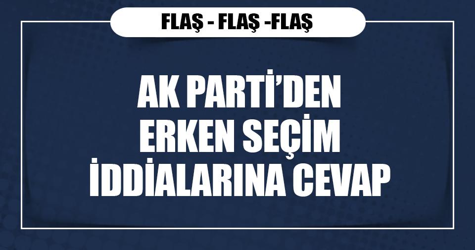 AK Parti'li Recep Akdağ: Gündemimizde erken seçim yok