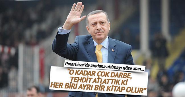 Bugün burada bunları konuşabiliyorsak Erdoğan sayesindedir