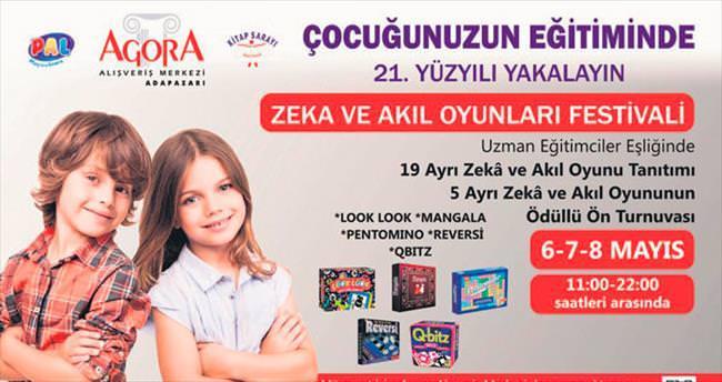 Zekâ ve Akıl Oyunları Festivali Agora AVM'de