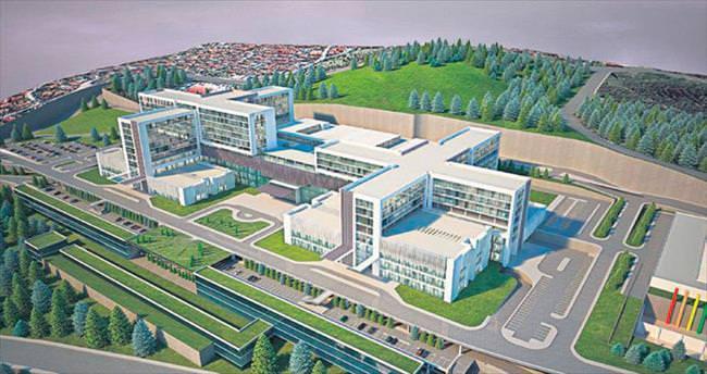 Şehir Hastanesi 2018'de tamam