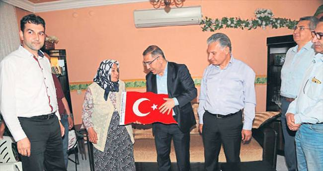 Başkan Mahmut Çelikcan duygulara ortak oldu