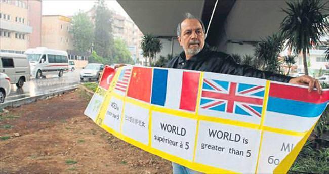 'Dünya 5'ten Büyük' eylemi