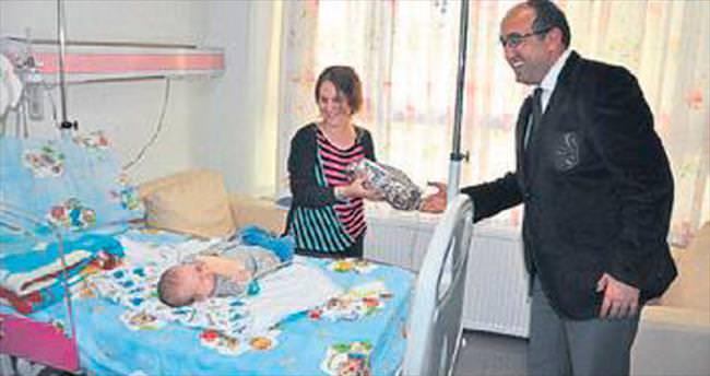 Başkan Çöl'den hasta ziyaretleri