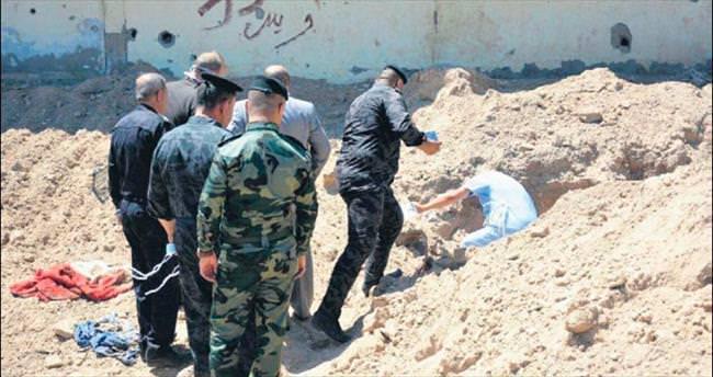 DAEŞ'ten kalma 50'den fazla toplu mezar bulundu