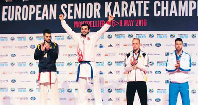 Karatede tek altın Uğur Aktaş'tan