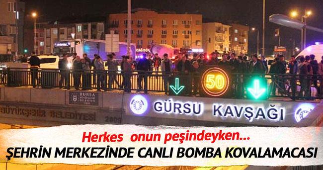 Bursada bomba yüklü araç alarmı
