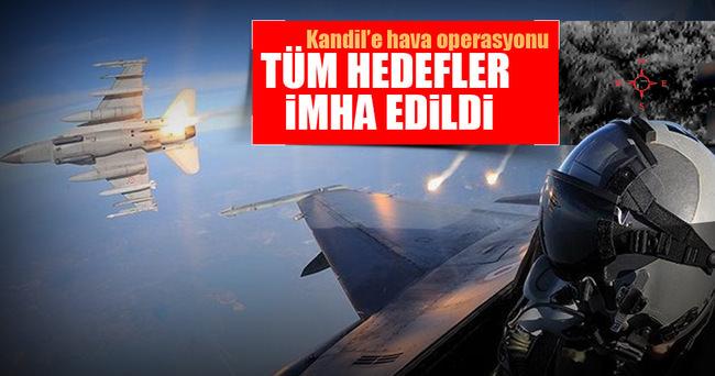 TSK açıkladı Kandil'e hava operasyonu