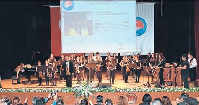 Genç yeteneklerin büyüleyen konseri